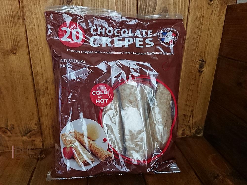 夫婦二人暮らしコストコ活用!常温保存できるチョコレートクレープ値段
