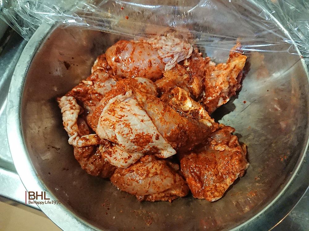 コストコ食材レシピメニュータンドリーチキン