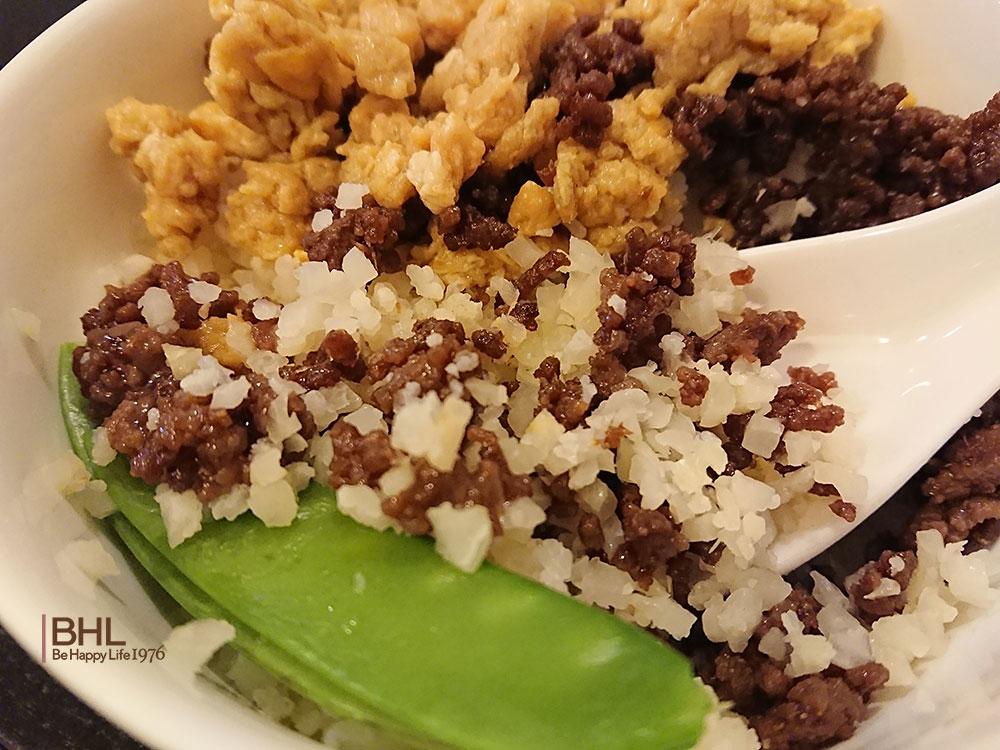 コストコ食材レシピメニューカリフラワーライス、卵